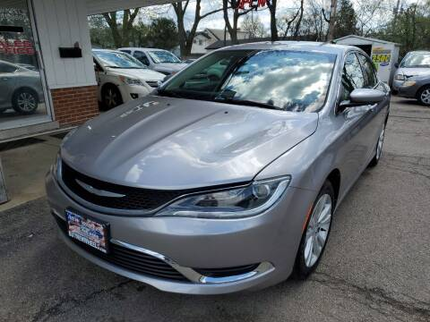 2016 Chrysler 200 for sale at New Wheels in Glendale Heights IL