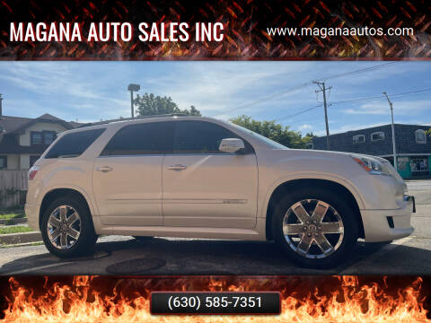 2011 GMC Acadia for sale at Magana Auto Sales Inc in Aurora IL