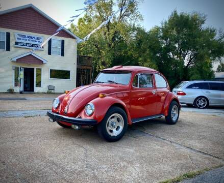 1970 Volkswagen Super Beetle for sale at Unique LA Motor Sales LLC in Byrnes Mill MO