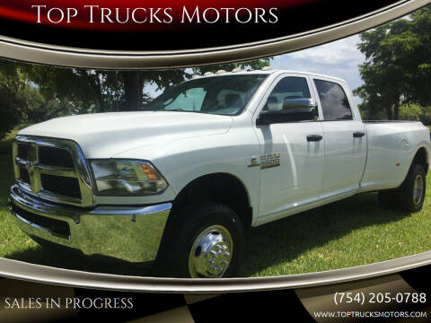2016 RAM Ram Pickup 3500 for sale at Top Trucks Motors in Pompano Beach FL