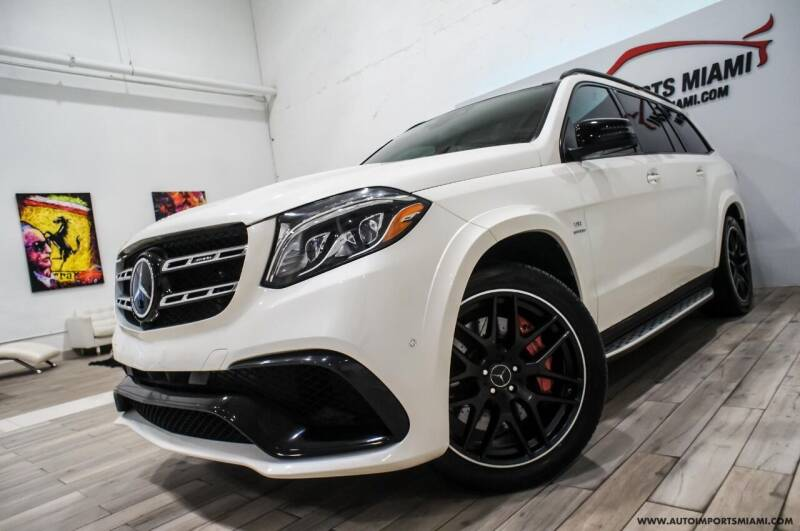 2017 Mercedes-Benz GLS for sale at AUTO IMPORTS MIAMI in Fort Lauderdale FL