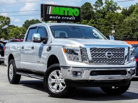 2016 Nissan Titan XD for sale at Metro Auto Credit in Smyrna GA