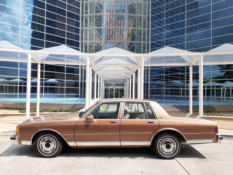 1986 Chevrolet Caprice for sale at Car Mart Leasing & Sales in Hollywood FL