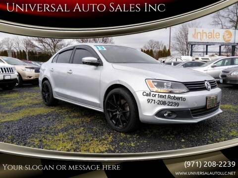 2013 Volkswagen Jetta for sale at Universal Auto Sales Inc in Salem OR