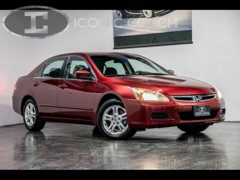 2006 Honda Accord for sale at Iconic Coach in San Diego CA