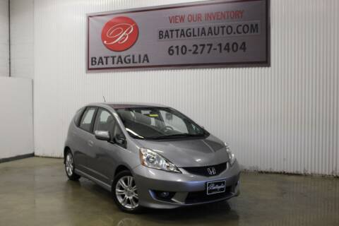 2010 Honda Fit for sale at Battaglia Auto Sales in Plymouth Meeting PA