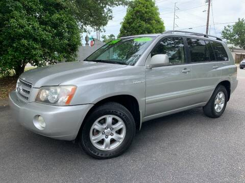 2002 Toyota Highlander for sale at Seaport Auto Sales in Wilmington NC