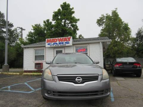 2008 Nissan Altima for sale at Midway Cars LLC in Indianapolis IN