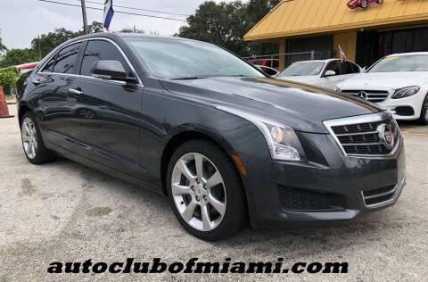 2014 Cadillac ATS for sale at AUTO CLUB OF MIAMI, INC in Miami FL