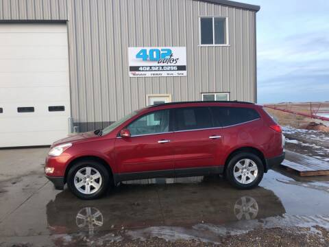 2012 Chevrolet Traverse for sale at 402 Autos in Lindsay NE