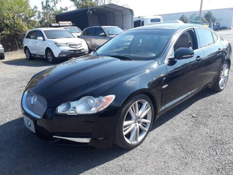 2011 Jaguar XF for sale at M & M Auto Brokers in Chantilly VA