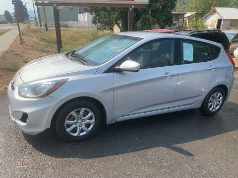 2014 Hyundai Accent for sale at Harpers Auto Sales in Kettle Falls WA