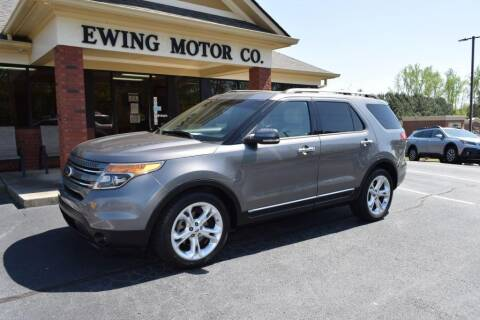 2013 Ford Explorer for sale at Ewing Motor Company in Buford GA