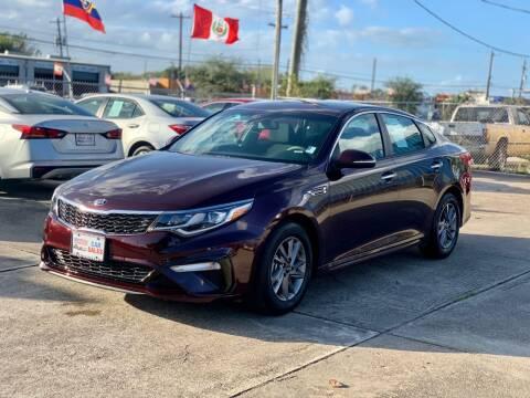 2020 Kia Optima for sale at USA Car Sales in Houston TX