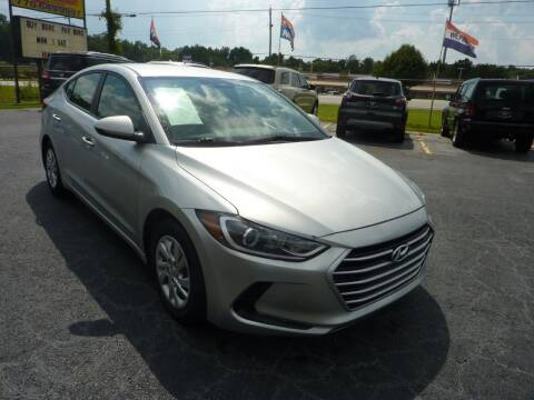 2017 Hyundai Elantra for sale at Roswell Auto Imports in Austell GA