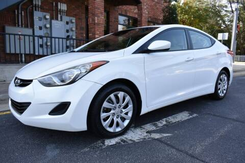 2013 Hyundai Elantra for sale at Apex Car & Truck Sales in Apex NC