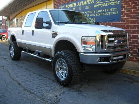 2008 Ford F-250 Super Duty for sale at South Atlanta Motorsports in Mcdonough GA