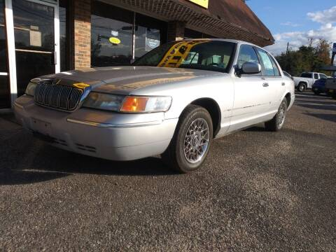2000 Mercury Grand Marquis for sale at Best Buy Autos in Mobile AL