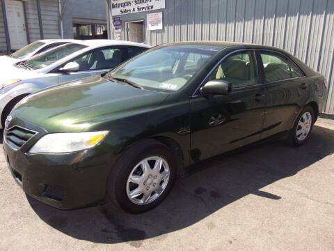 2010 Toyota Camry for sale at Fulmer Auto Cycle Sales - Fulmer Auto Sales in Easton PA