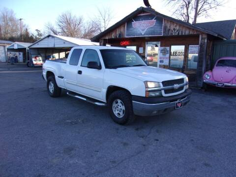 2003 Chevrolet Silverado 1500 for sale at LEE AUTO SALES in McAlester OK
