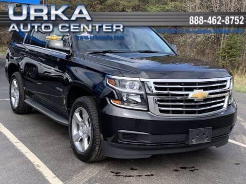 2015 Chevrolet Tahoe for sale at Urka Auto Center in Ludington MI