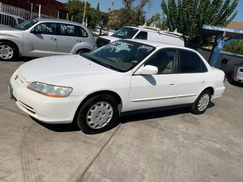 2002 Honda Accord for sale at Olympic Motors in Los Angeles CA