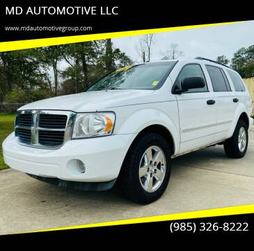 2009 Dodge Durango for sale at MD AUTOMOTIVE LLC in Slidell LA