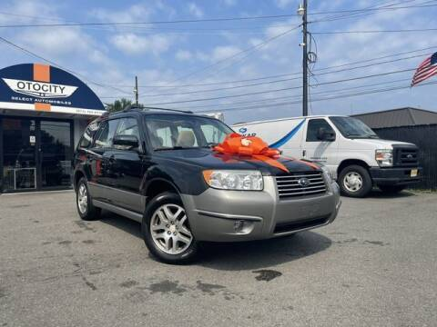 2006 Subaru Forester for sale at OTOCITY in Totowa NJ