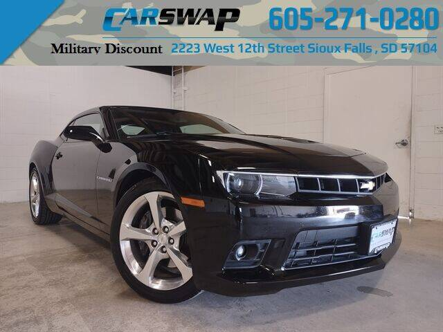 2015 Chevrolet Camaro for sale at CarSwap in Sioux Falls SD