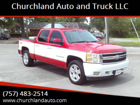 2008 Chevrolet Silverado 1500 for sale at Churchland Auto and Truck LLC in Portsmouth VA