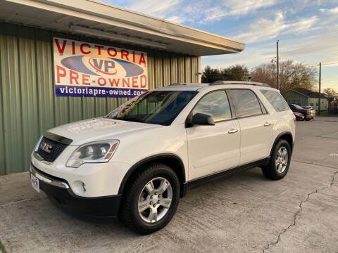 2012 GMC Acadia for sale at Victoria Pre-Owned in Victoria TX