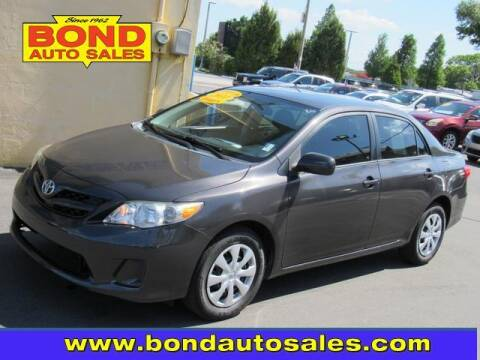 2011 Toyota Corolla for sale at Bond Auto Sales in St Petersburg FL