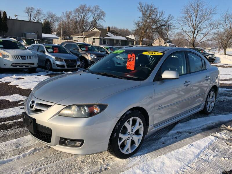 2007 Mazda MAZDA3 for sale at River Motors in Portage WI