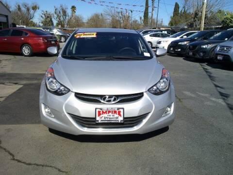 2012 Hyundai Elantra for sale at Empire Auto Sales in Modesto CA