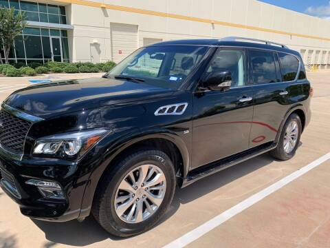 2017 Infiniti QX80 for sale at Houston Auto Preowned in Houston TX