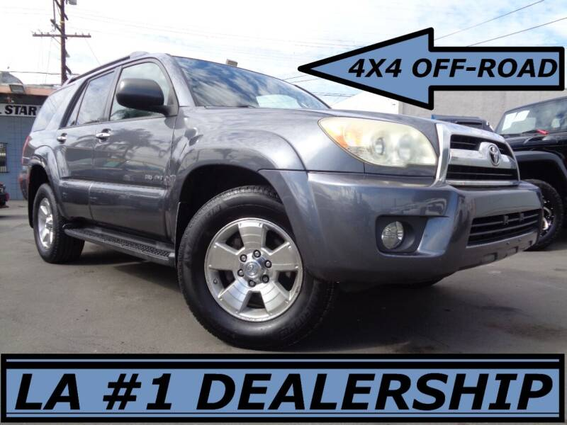 2008 Toyota 4Runner for sale at ALL STAR TRUCKS INC in Los Angeles CA