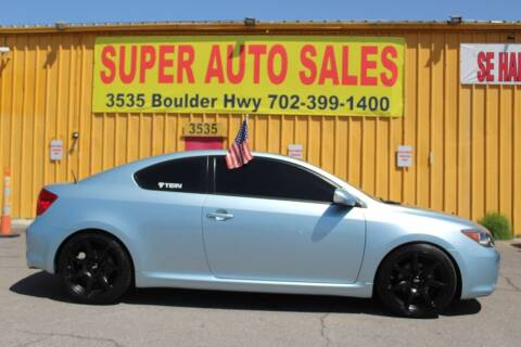 2006 Scion tC for sale at Super Auto Sales in Las Vegas NV