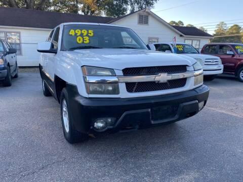 2003 Chevrolet Avalanche for sale at Port City Auto Sales in Baton Rouge LA