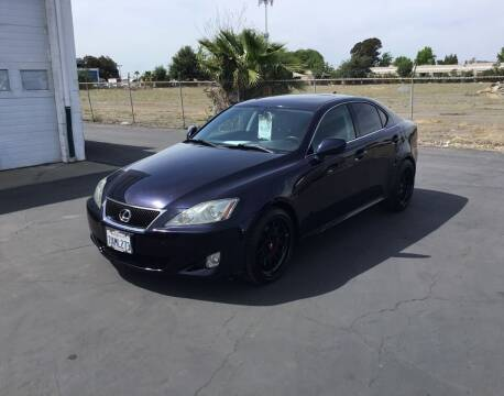 2007 Lexus IS 250 for sale at My Three Sons Auto Sales in Sacramento CA