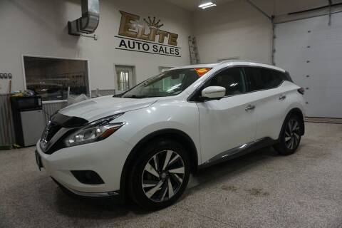 2015 Nissan Murano for sale at Elite Auto Sales in Ammon ID