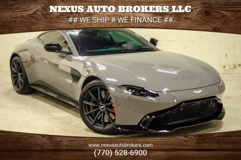 2019 Aston Martin Vantage for sale at Nexus Auto Brokers LLC in Marietta GA