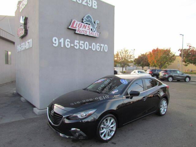 2014 Mazda MAZDA3 for sale at LIONS AUTO SALES in Sacramento CA