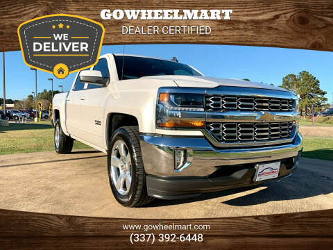2018 Chevrolet Silverado 1500 for sale at GoWheelMart in Leesville LA