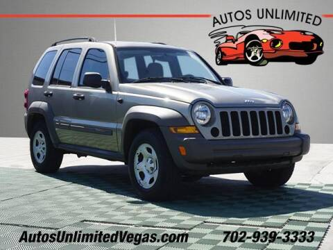 2007 Jeep Liberty for sale at Autos Unlimited in Las Vegas NV