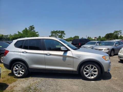 2011 BMW X3 for sale at M & M Auto Brokers in Chantilly VA