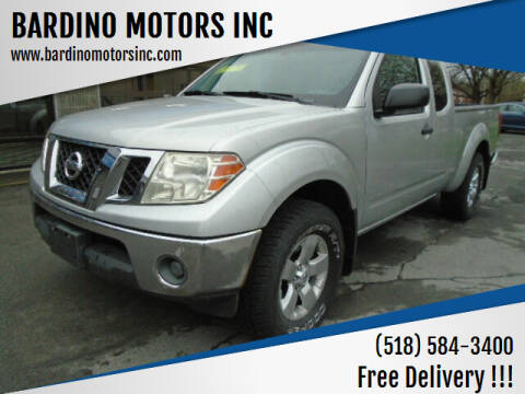 2010 Nissan Frontier for sale at BARDINO MOTORS INC in Saratoga Springs NY