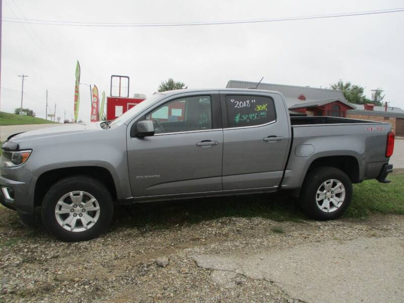 2018 Chevrolet Colorado for sale at Schrader - Used Cars in Mount Pleasant IA