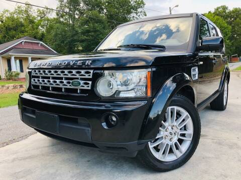 2011 Land Rover LR4 for sale at Cobb Luxury Cars in Marietta GA