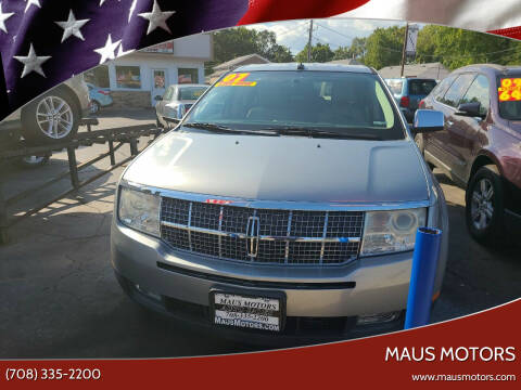 2007 Lincoln MKX for sale at MAUS MOTORS in Hazel Crest IL