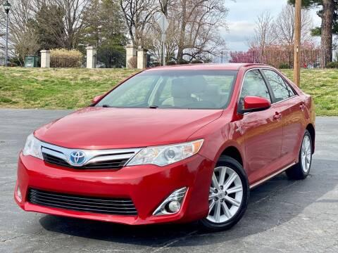 2014 Toyota Camry Hybrid for sale at Sebar Inc. in Greensboro NC